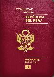 Passport cover of Peru