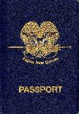 Passport cover of Papua New Guinea