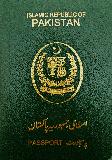 Passport cover of Pakistan
