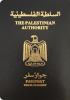 Passport cover of Palestinian Territories