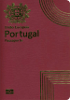 Passport cover of Portugal