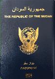 Passport cover of Sudan