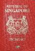 Passport cover of Singapore MOST POWERFUL PASSPORT RANK