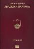 Passport cover of Slovenia MOST POWERFUL PASSPORT RANK