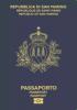 Passport cover of San Marino MOST POWERFUL PASSPORT RANK