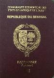 Passport cover of Senegal