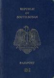 Passport cover of South Sudan