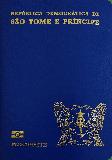 Passport cover of Sao Tome and Principe
