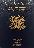 Passport cover of Syria