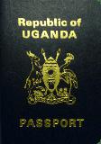 Passport cover of Uganda