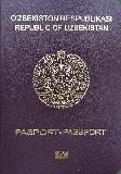 Passport cover of Uzbekistan