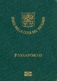 Passport cover of Vatican City