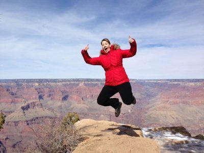 Kerri Grand Canyon Jump