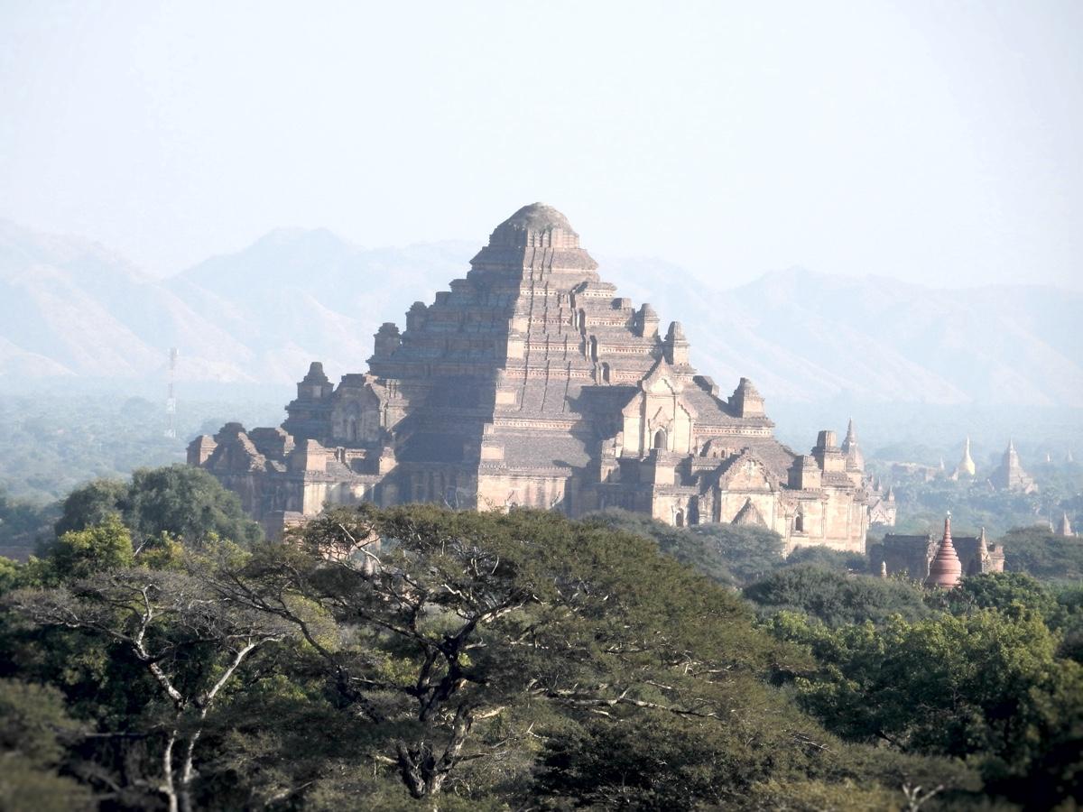 Exploring the Ruins of Old Bagan