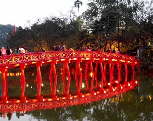 8 Hanoi Red Bridge