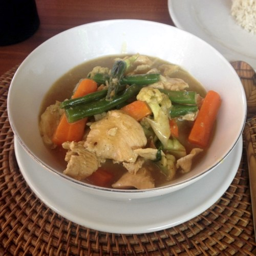 Curry with Lemongrass