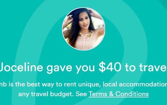 Use my referral code to get a discount off your first stay!