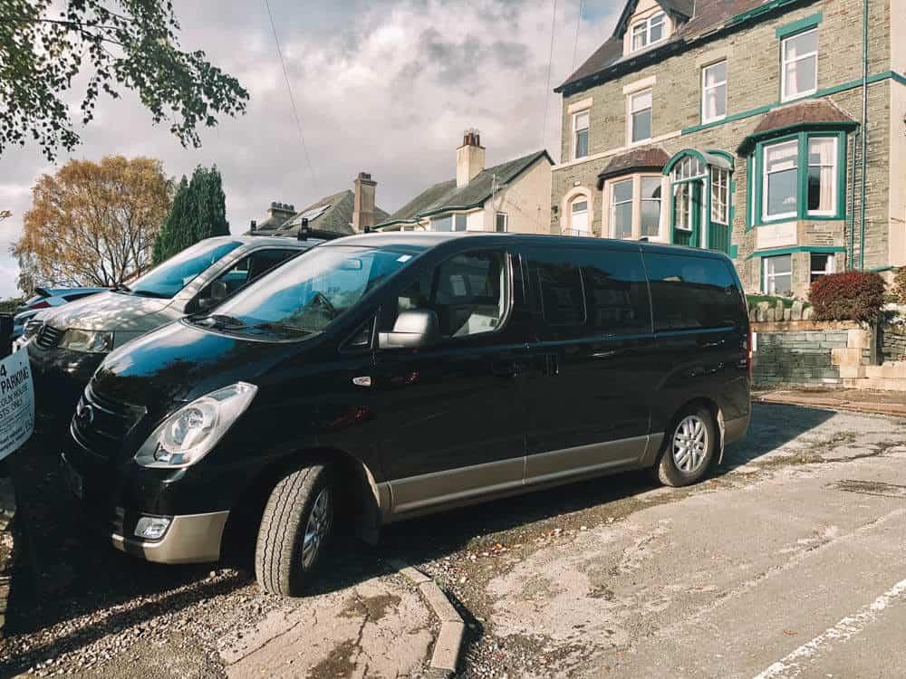Van in the Lake District