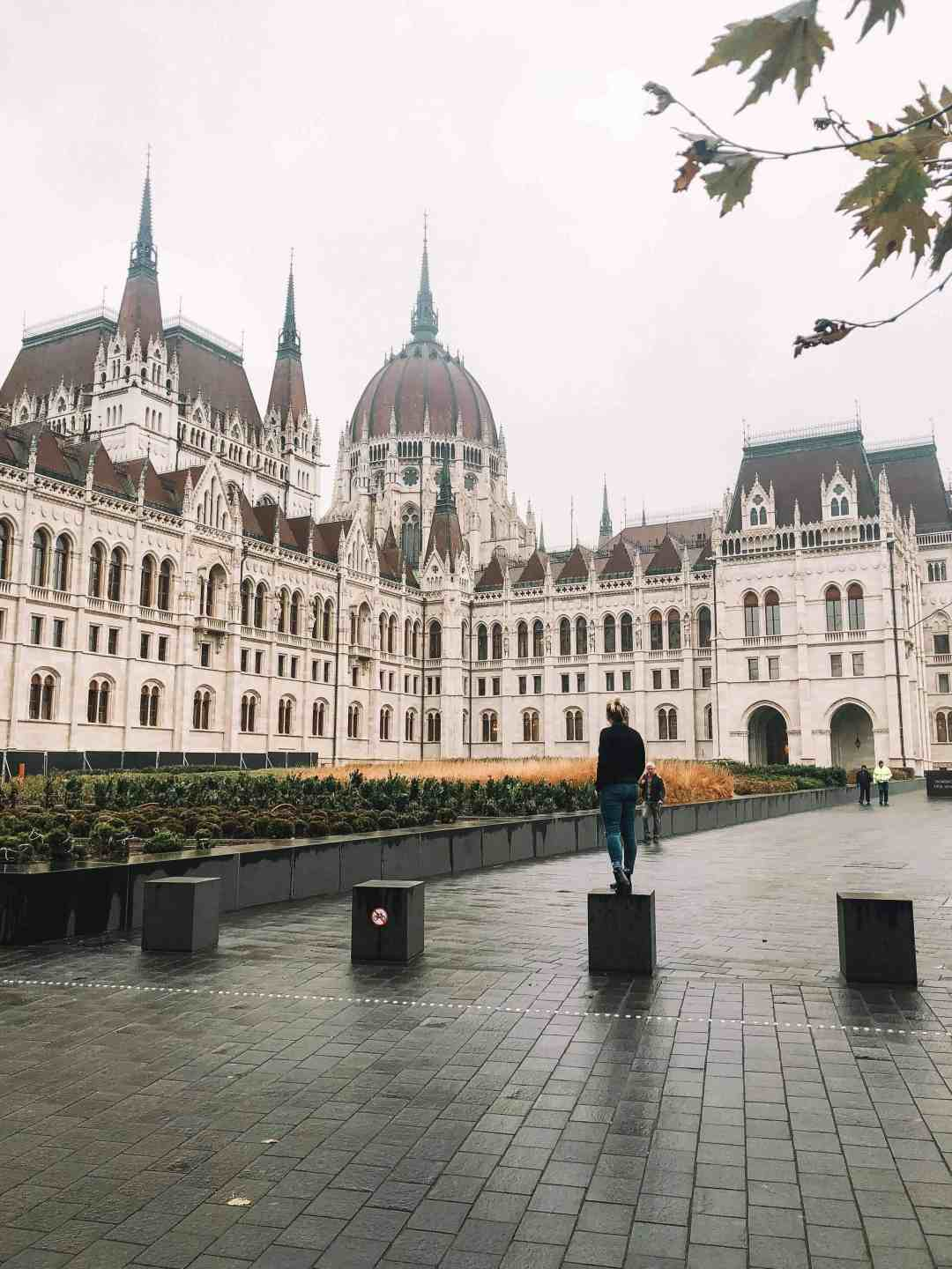 Hungarian House of Parliament - Budapest