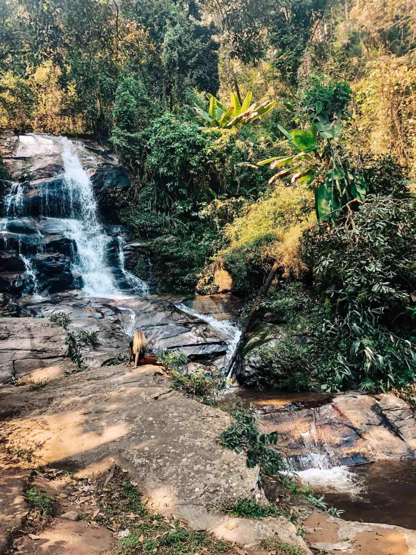 Mon Than Waterfall - Chiang Mai