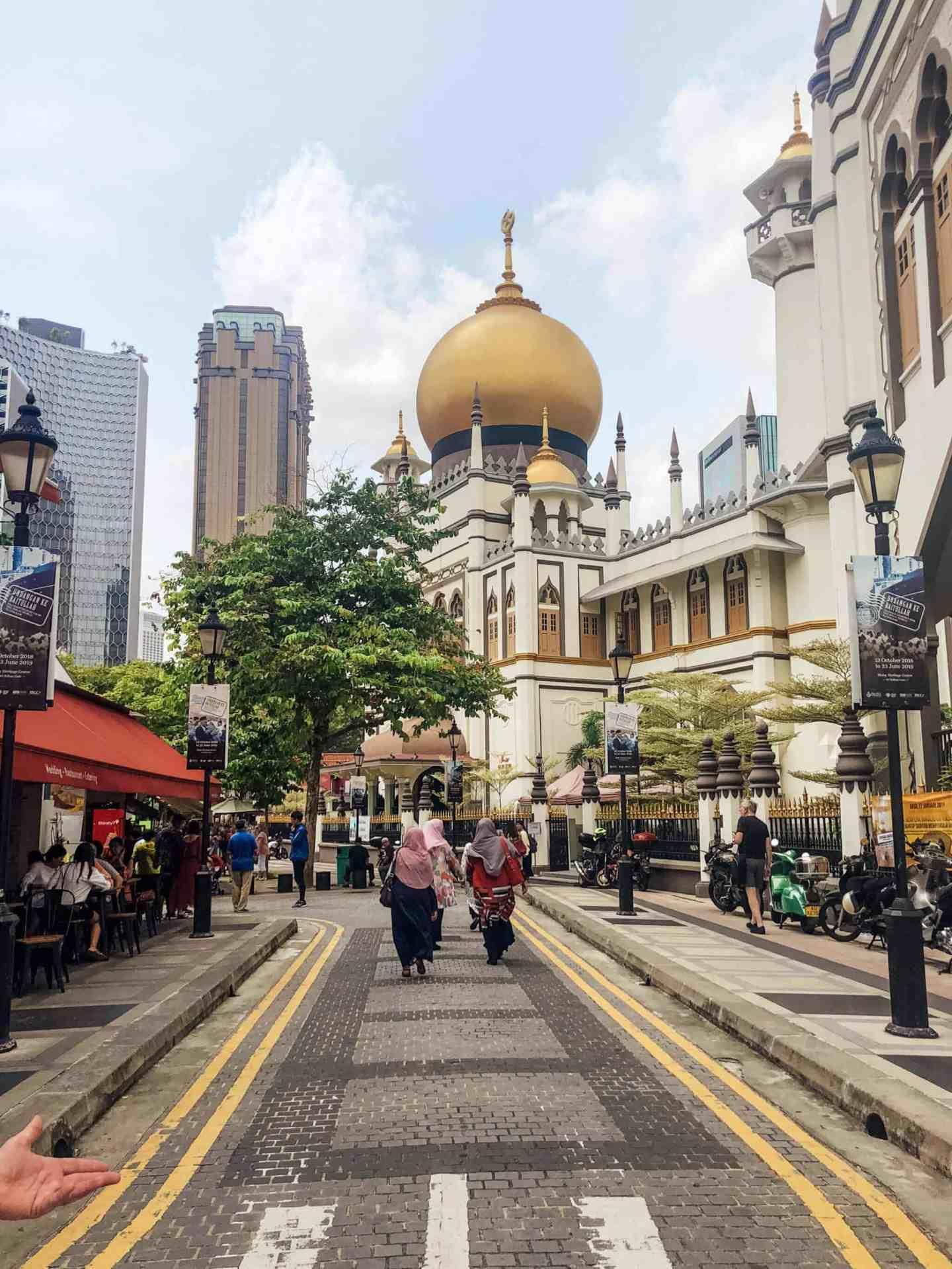 Kampong Glam Neighborhood - Singapore