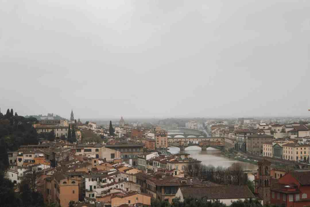 Views of Florence from Michelangelo