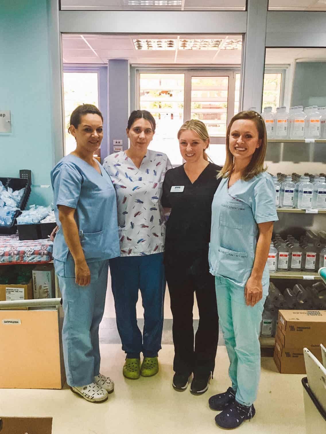 Working as a Volunteer Nurse in Skopje, Macedonia