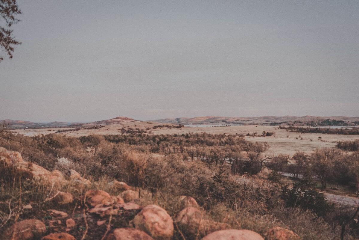 mountainous area in Oklahoma