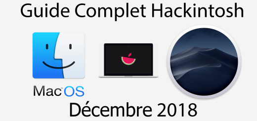 guide hackintosh décembre 2018