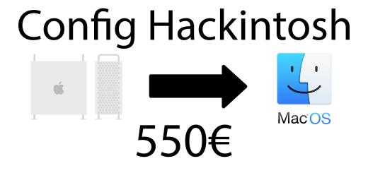 Hackintosh 550€