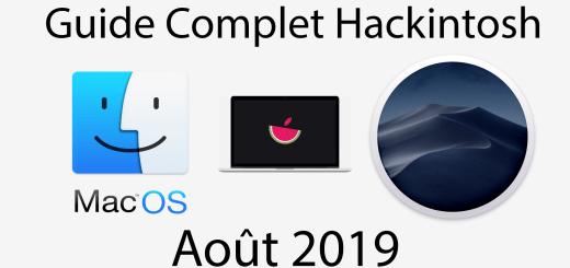 guide hackintosh août 2019