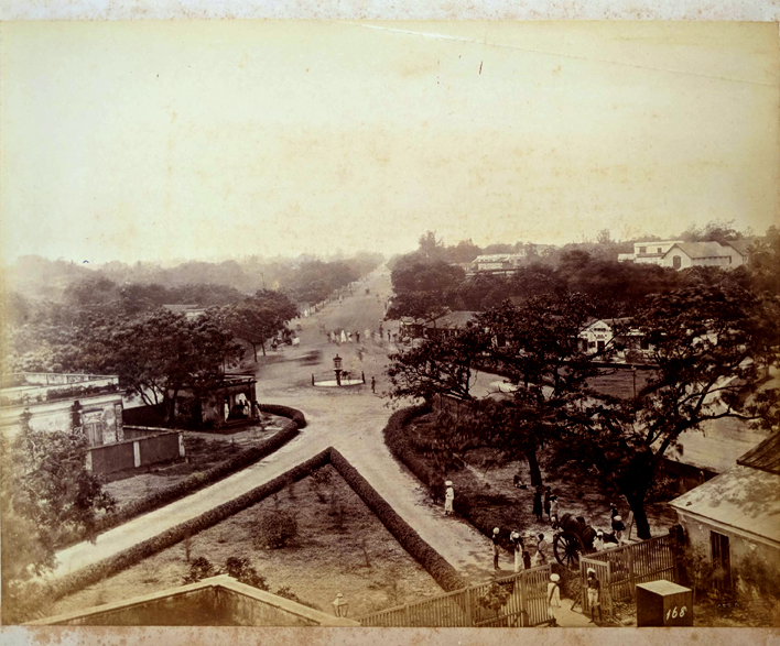 Antique Photo Of South Parade Road Bangalore