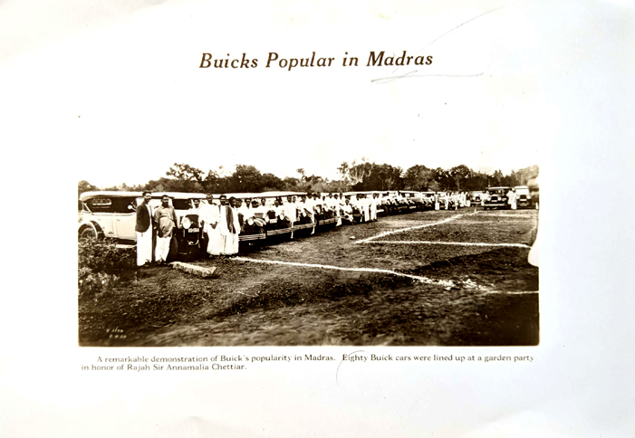 1929 Photo Madras Buick Cars