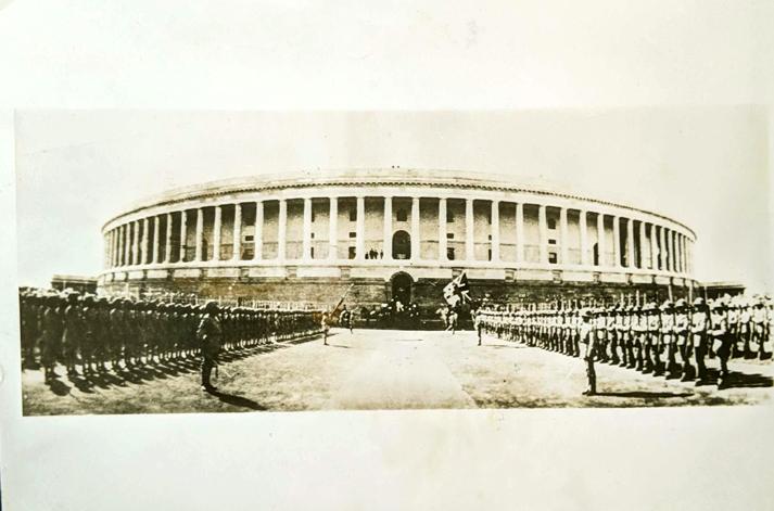 Inauguration Of Parliament Building Delhi - Old Photo 1927