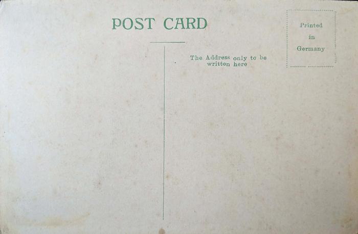 Vintage Postcard Bangalore Commercial Street 1904
