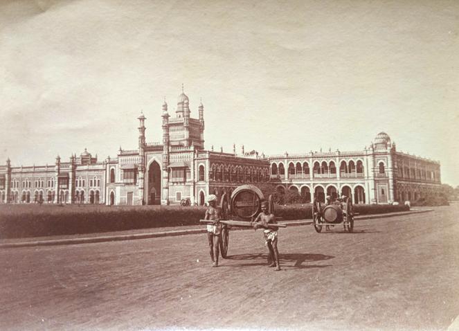 Antique Photo Madras Chepauk Palace 1880
