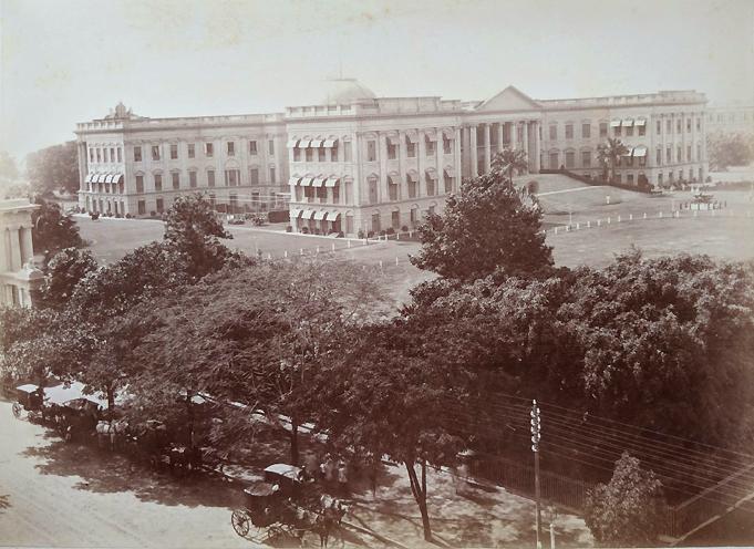 Antique Photo Calcutta Government House