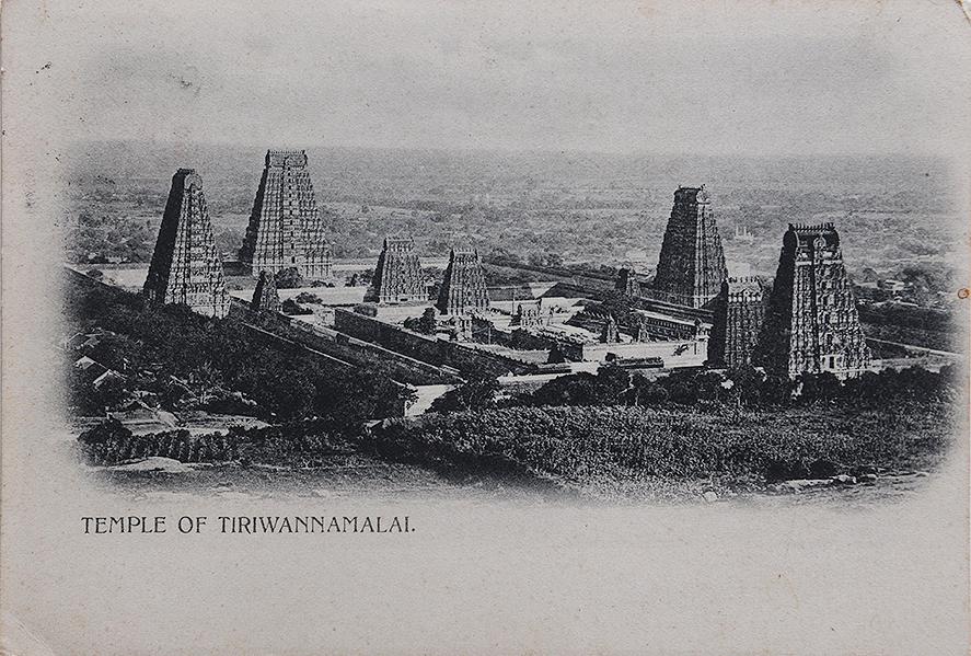 Arunachaleswarar Temple Bombay Censor-Old Postcard 1915