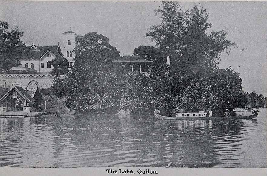 Vintage South Indian Railway Promotional Postcard 1900