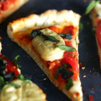 Vegan Pizza Dough [Margherita Pizza Recipe]