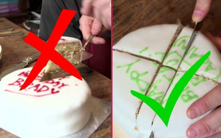 Bilimsel Yolla Açıklayalım: Pasta Aslında Nasıl Kesilir?