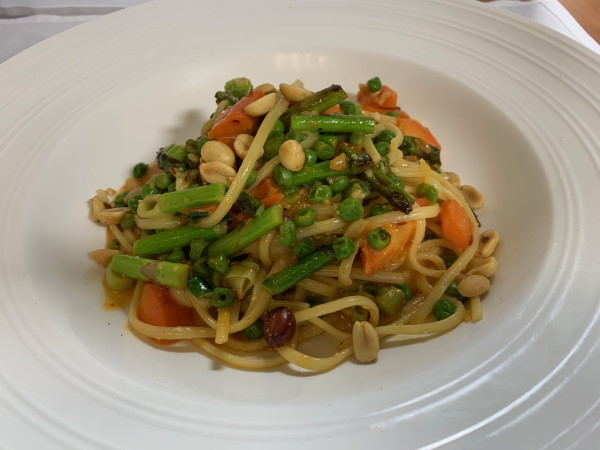 Spicy Thai Linguine