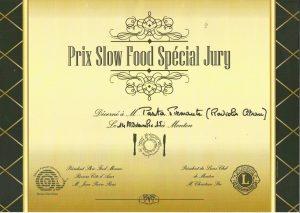 Prix Sloow Food special Jury