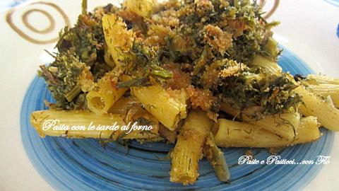 pasta con le sarde al forno1