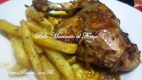 pollo marinato al forno1