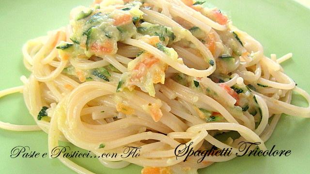 spaghetti tricolore1