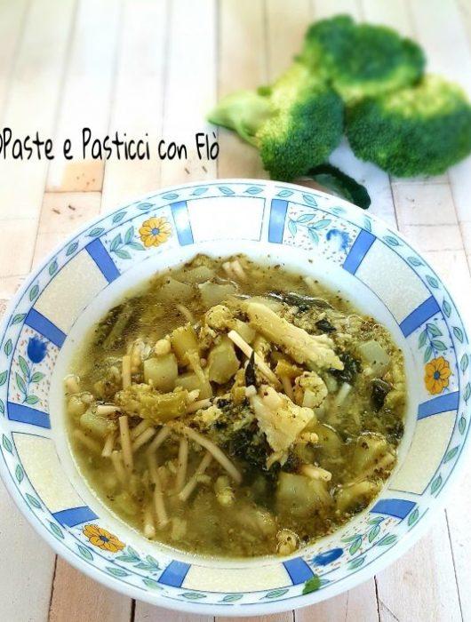 ricetta pasta con sparacelli a minestra