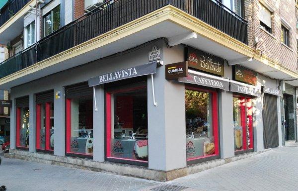 cafeteria pasteleria bellavista en zaidin vergeles granada