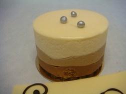 Pastel tres chocolates