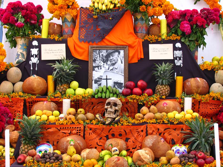 Image result for altares de dia de muertos en mexico